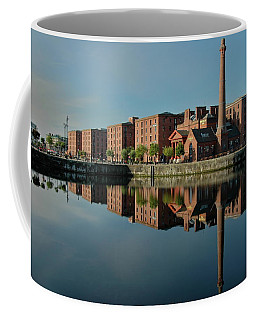 Coffee Mug featuring the photograph Liverpool Canning Docks by Jonah  Anderson