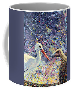 Living Between Beaks Coffee Mug