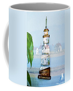 Living By The Sea - Pacific Ocean Coffee Mug