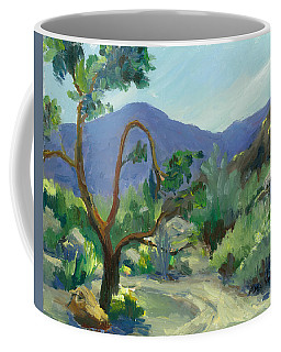 Stately Desert Tree - Spring Commeth Coffee Mug