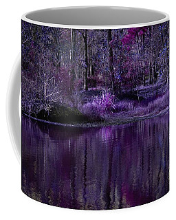Living In A Purple Dream Coffee Mug by Linda Unger