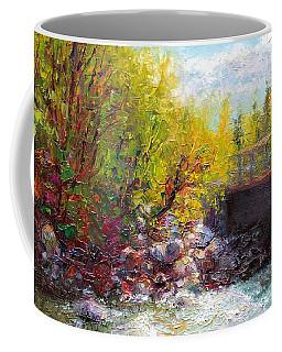 Living Water - Bridge Over Little Su River Coffee Mug
