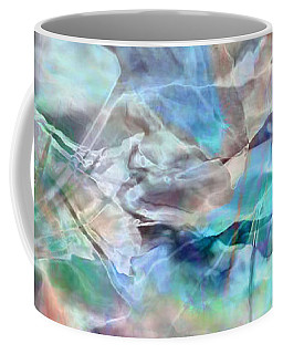 Living Waters - Abstract Art Coffee Mug by Jaison Cianelli