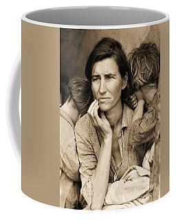 Living With Poverty Coffee Mug