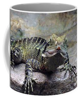 Coffee Mug featuring the photograph Lizzie's Gaze by Lingfai Leung