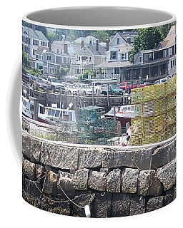 Coffee Mug featuring the photograph New England Lobster by Eunice Miller