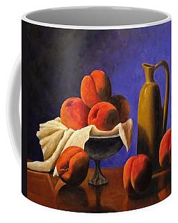 Local Peaches Oil Painting Coffee Mug
