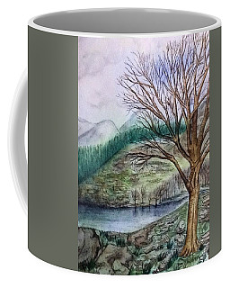 Loch Ard Stirling Overlooking Loch A'ghleannain Coffee Mug