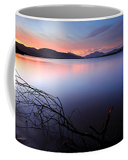 Coffee Mug featuring the photograph Loch Lomond Sunset by Grant Glendinning