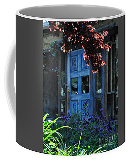 Locked Blue Door  Coffee Mug