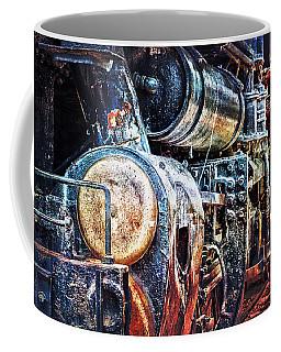 Coffee Mug featuring the photograph Locomotive by Gunter Nezhoda