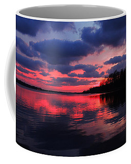 Locust Sunset Coffee Mug