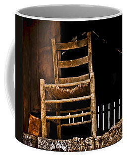 Coffee Mug featuring the photograph Loft Chair 2 by Greg Jackson