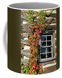 Log Cabin Ivy Coffee Mug