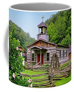 Log Church Coffee Mug