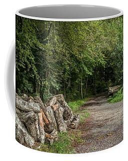 Logs Coffee Mug by Michelle Meenawong