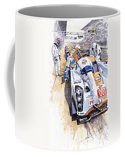 Lola Aston Martin Lmp1 Gulf Team 2009 Coffee Mug