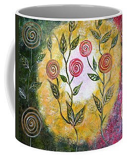 Lollipop Flowers Coffee Mug