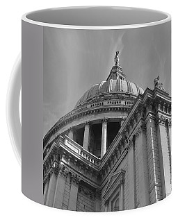 London St Pauls Cathedral Coffee Mug by Cheryl Miller