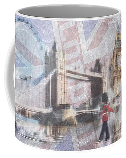 London Blue Coffee Mug