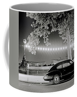 Porsche In London Coffee Mug by Shaun Higson