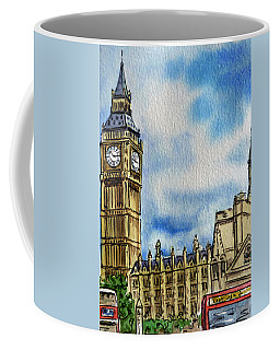London England Big Ben Coffee Mug