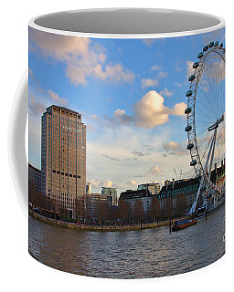London Eye And Shell Building Coffee Mug