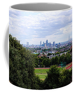 London From Parliament Hill Coffee Mug by Nicky Jameson