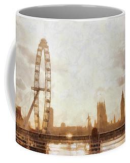 London Skyline At Dusk 01 Coffee Mug