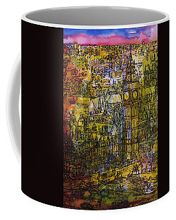 London, Westminster Pen & Ink With Wc On Paper Coffee Mug
