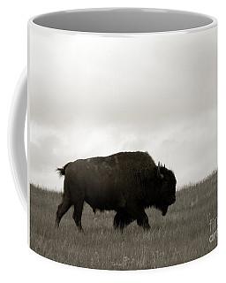 Lone Bison Coffee Mug