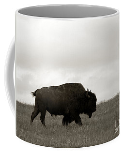 Lone Bison Coffee Mug