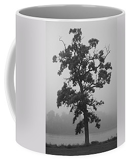 Coffee Mug featuring the photograph Lone Oak by Viviana  Nadowski