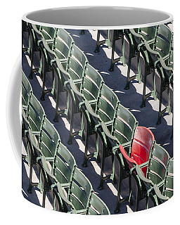 Lone Red Number 21 Fenway Park Coffee Mug