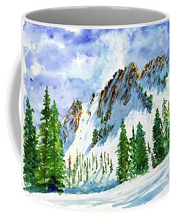 Lone Tree In The Afternoon Coffee Mug