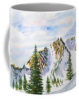 Lone Tree In The Morning Coffee Mug