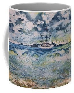 Lone Vessel  Coffee Mug