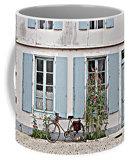 Lonely Bicycle... Coffee Mug by Cendrine Marrouat