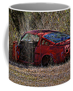 Coffee Mug featuring the photograph Lonely Fastback by Victor Montgomery