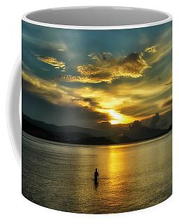 Lonely Fisherman Coffee Mug