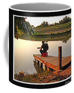 Lonely Guitarist Coffee Mug