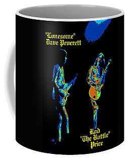 Lonesome Dave And Bottle Rod Coffee Mug