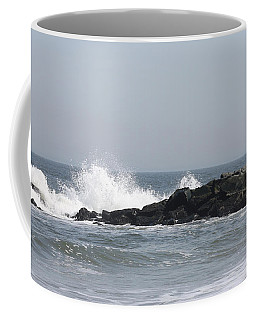 Long Beach Jetty Coffee Mug