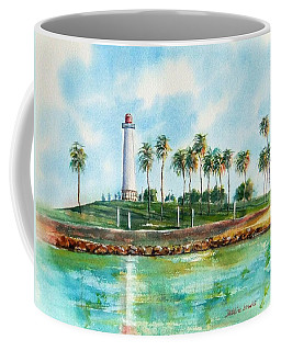 Long Beach Lighthouse  Version 2 Coffee Mug