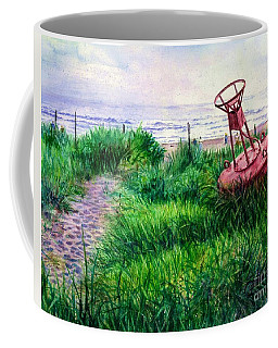 Long Beached Buoy Coffee Mug