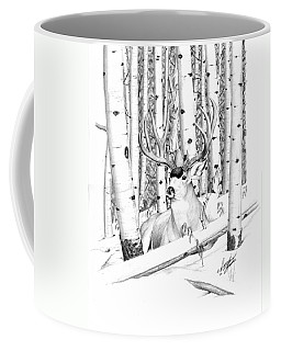 Long Buck Coffee Mug
