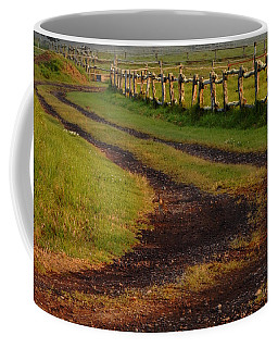 Long Dirt Road Coffee Mug