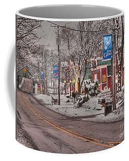Long Grove In Snow Coffee Mug