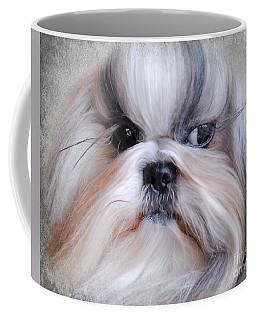 Long Haired Shih Tzu Coffee Mug