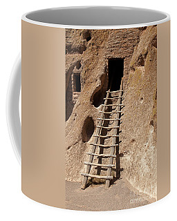 Long House Front Door Bandelier National Monument Coffee Mug